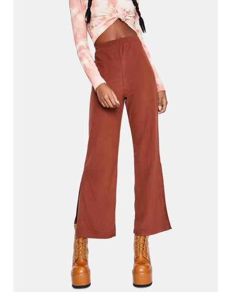 Bronze Sassy Sizzle Wide Leg Pants