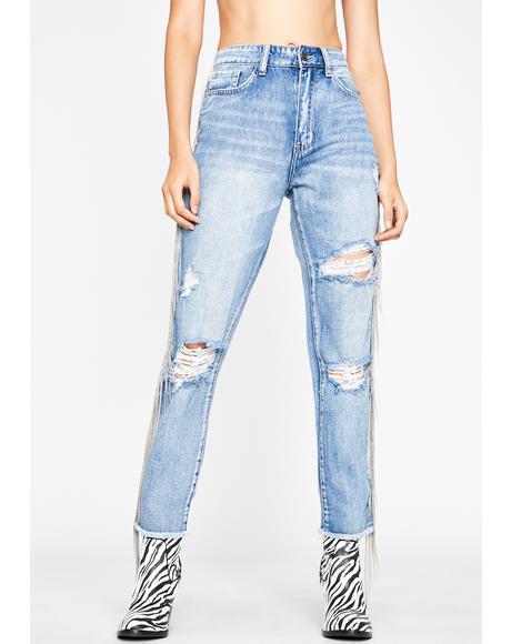 Happy Trails Boyfriend Jeans