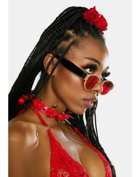 Lover Heard It All Before Oval Sunglasses