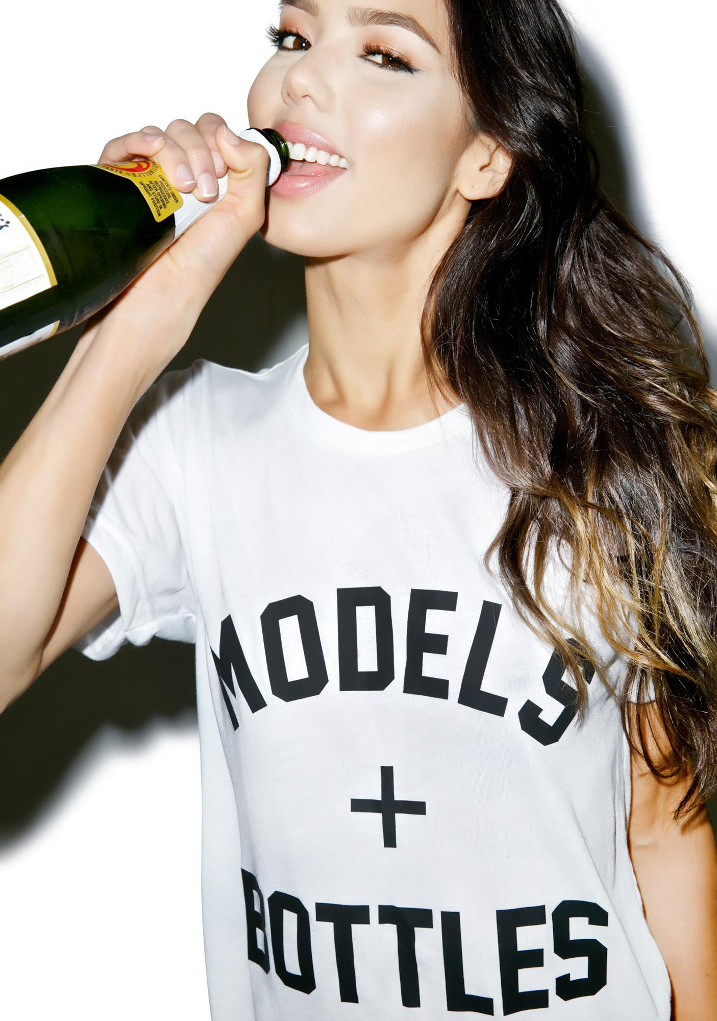 Private Party Models + Bottles Tee