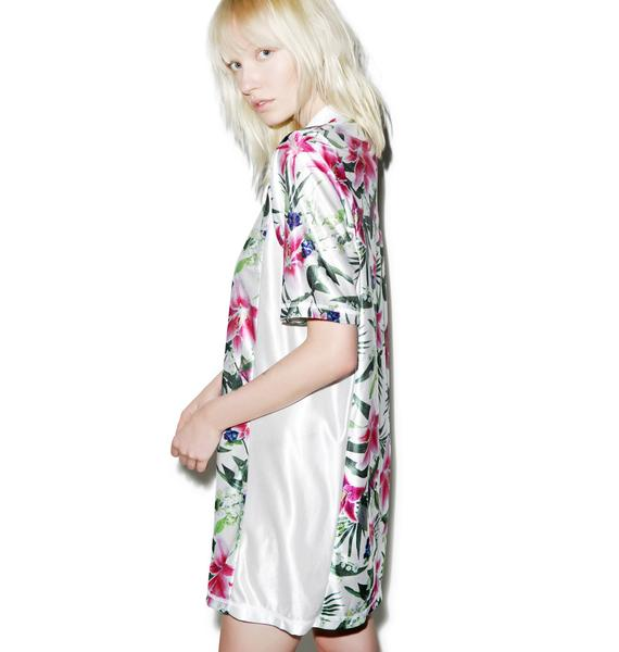 Joyrich Optical Garden Athletic Dress