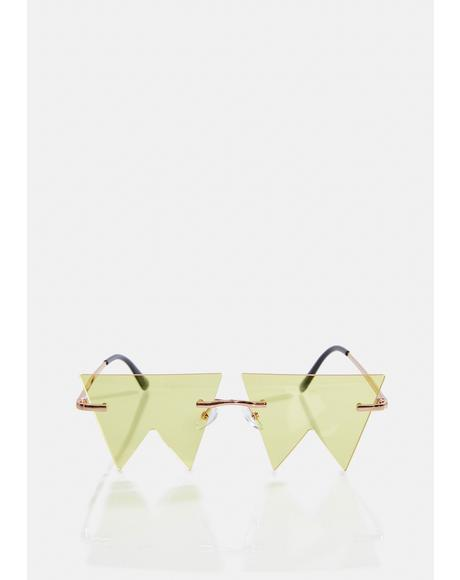Bee No Boundaries Geometric Sunglasses