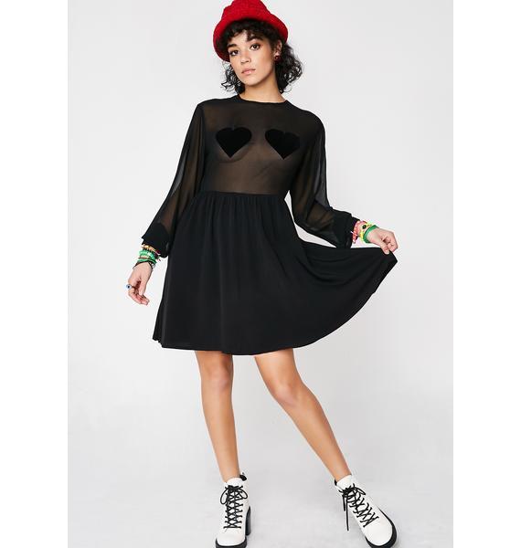 Lazy Oaf Flock Heart Dress