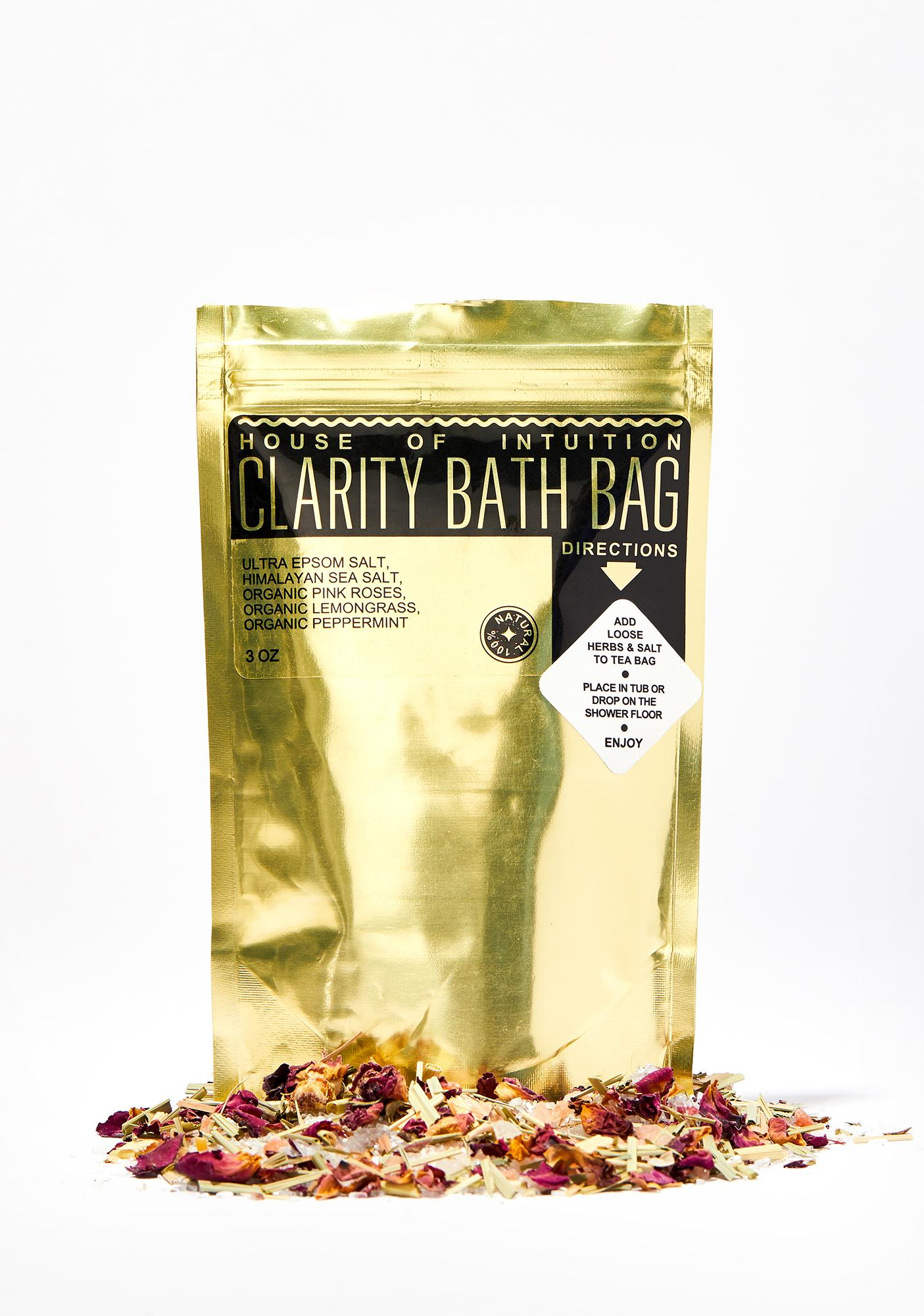 House Of Intuition Clarity Bath Bag