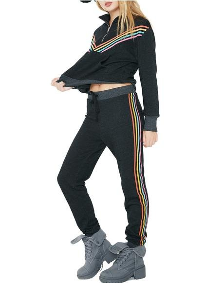 80s Track Star Bottoms Jack Jogger