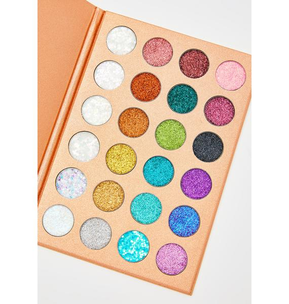 Ruby May Cosmetics Enchanted Glitter Palette