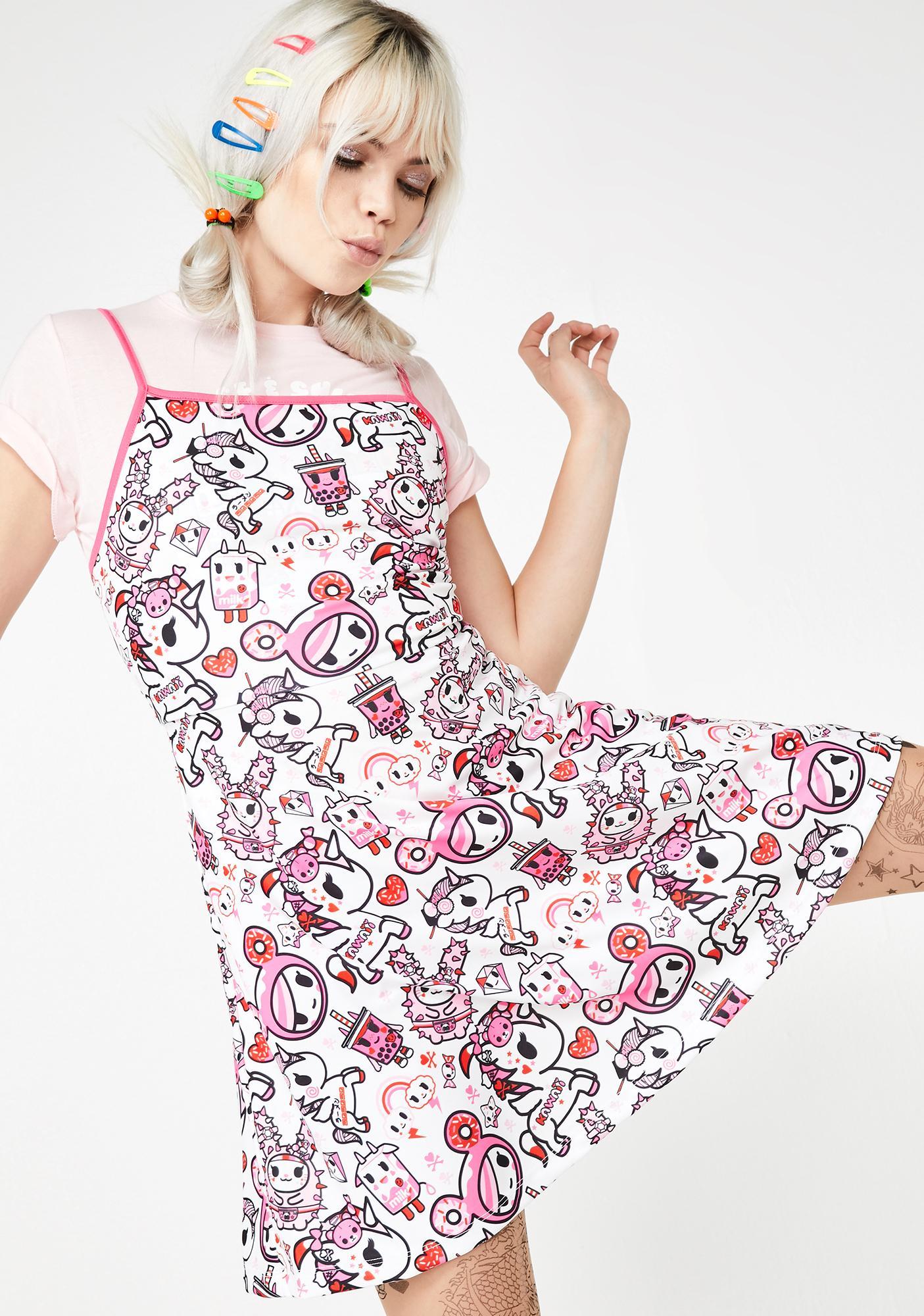 Tokidoki Pretty In Pink Mini Dress