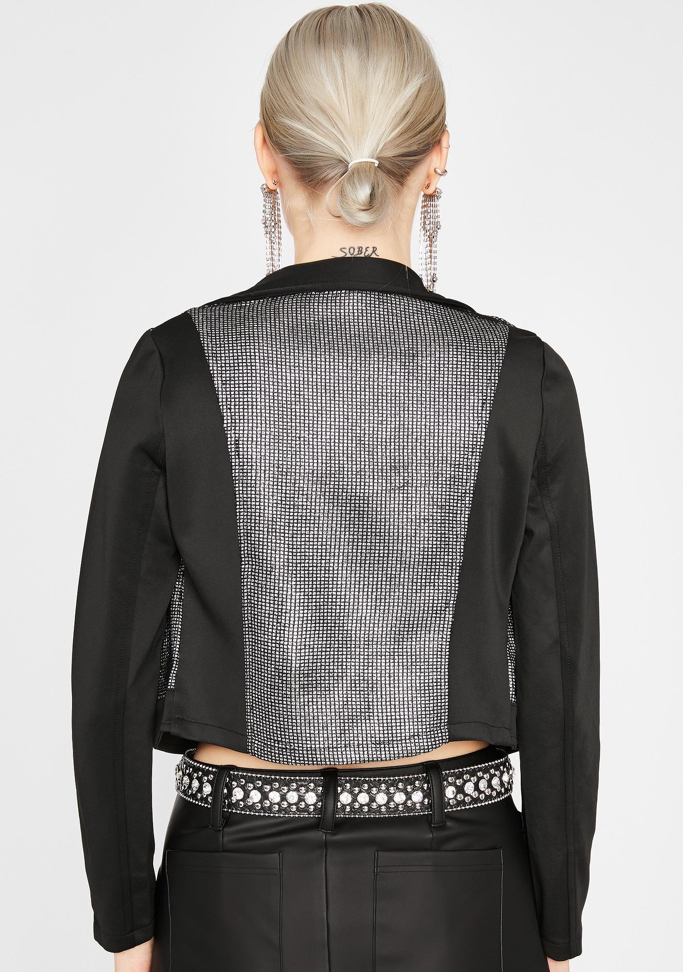 Glitter Gang Moto Jacket