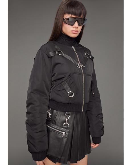 Baddie Undercover Bomber Jacket