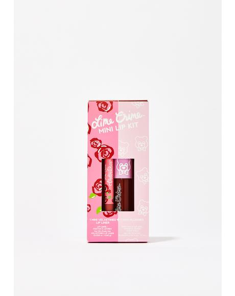 Cinnamon Bun Mini Lip Kit
