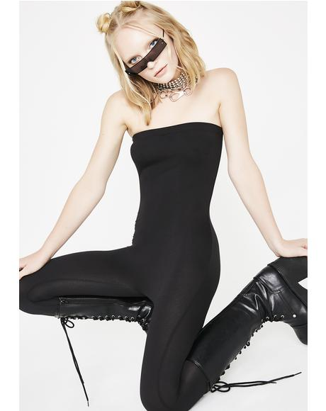 Bad Kitty Strapless Catsuit
