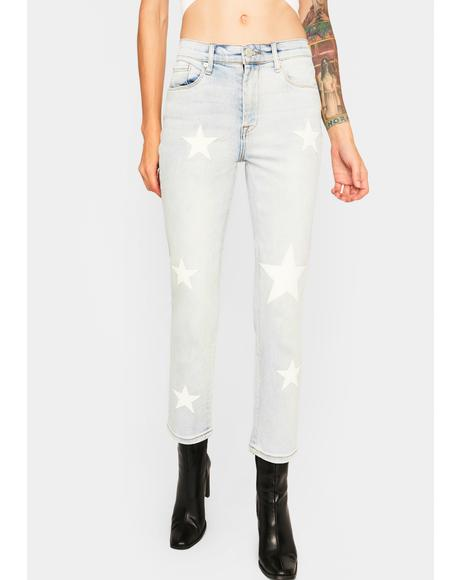 In Too Deep Madison Crop Jeans