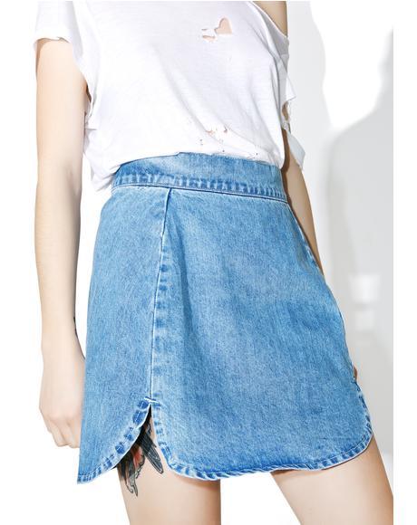 Elton Denim Skirt