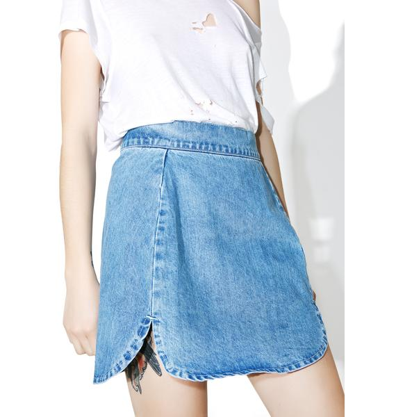 Glamorous Elton Denim Skirt