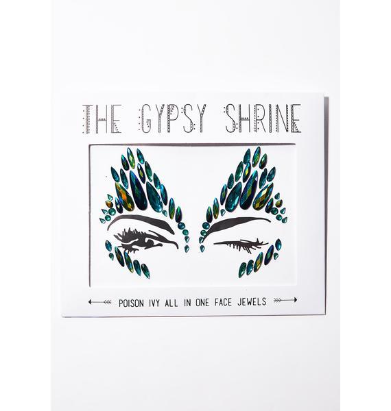 The Gypsy Shrine Poison Ivy Face Gems