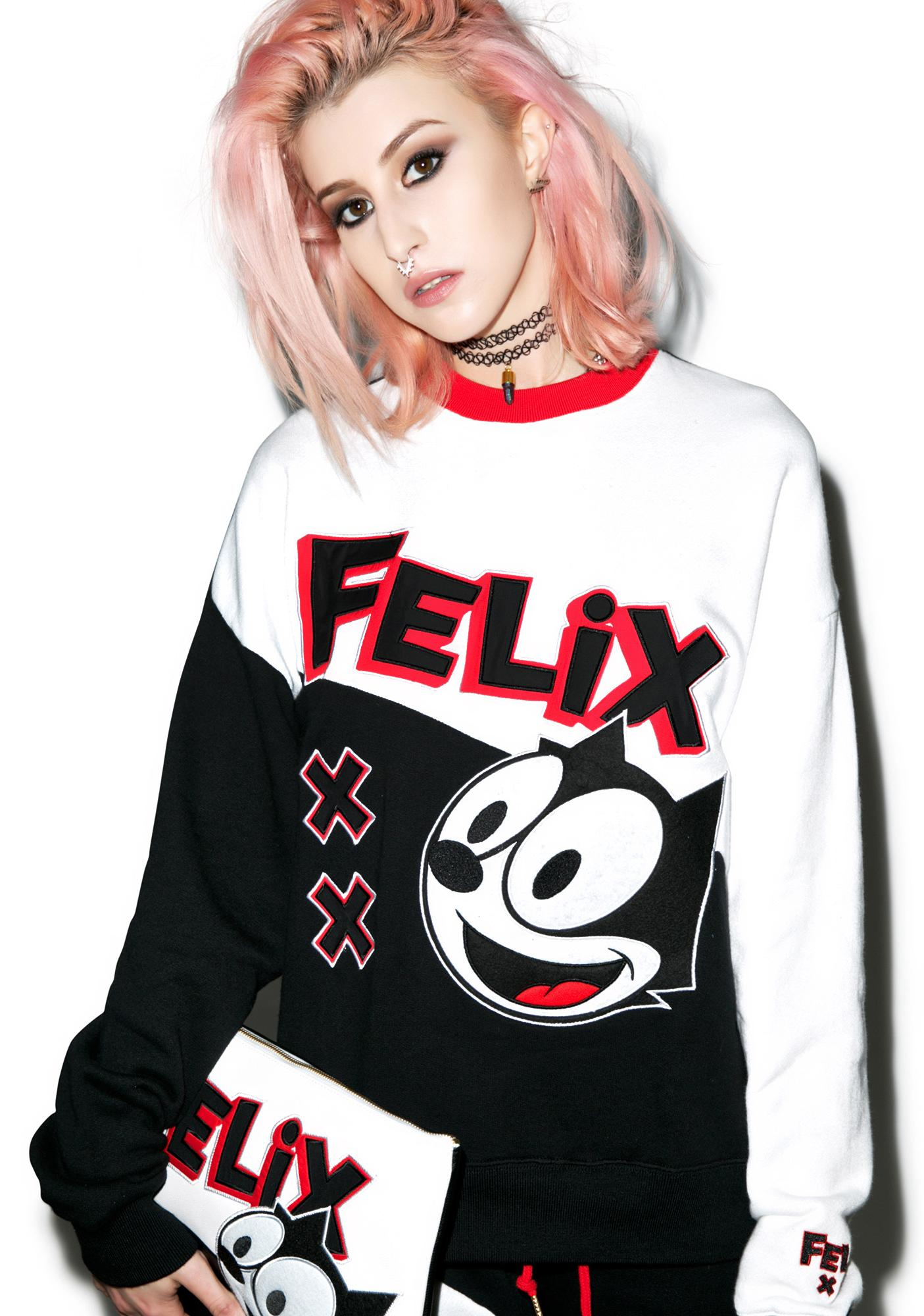 Joyrich Felix Color Block Crew
