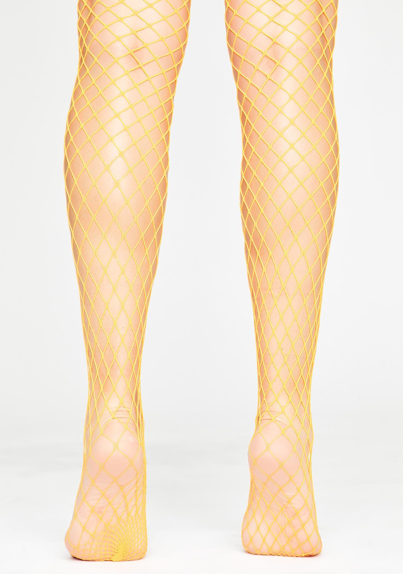 Slay Queen Fishnet Tights