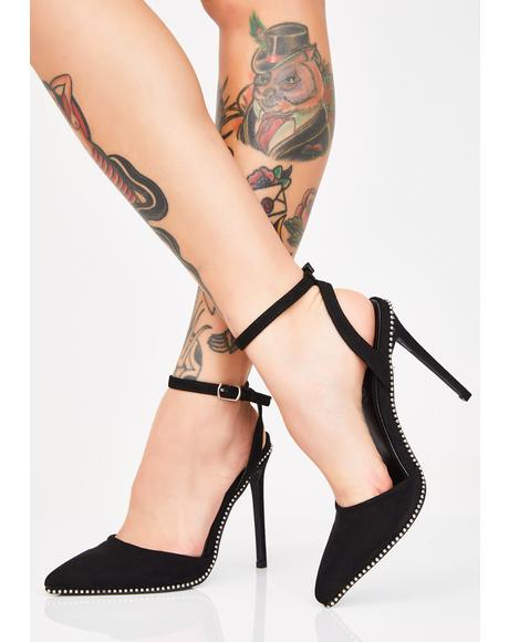 Independent Babe Studded Heels