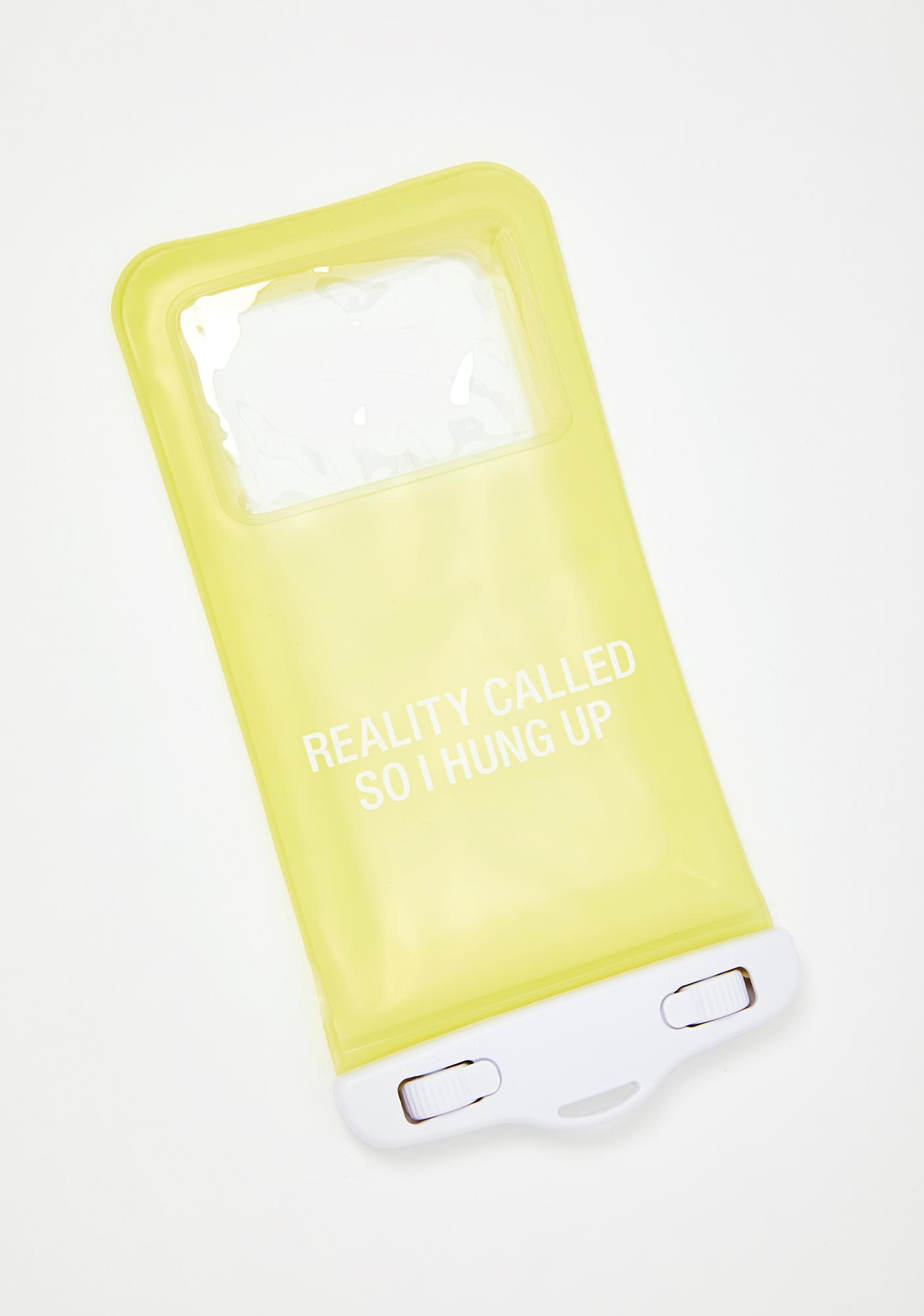 ABOUT FACE Reality Called Phone Protector Case