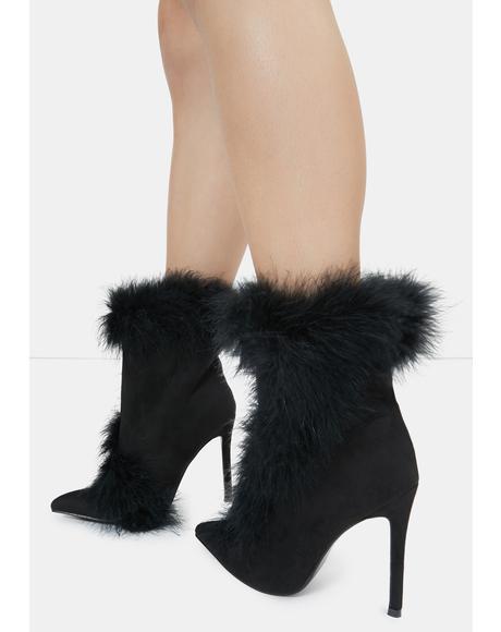 Black Kahina Ankle Boots