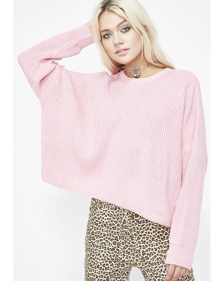 Sugar Pie Boxy Sweater