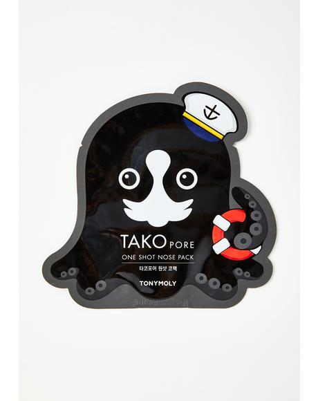 Tako Pore One Shot Nose Mask