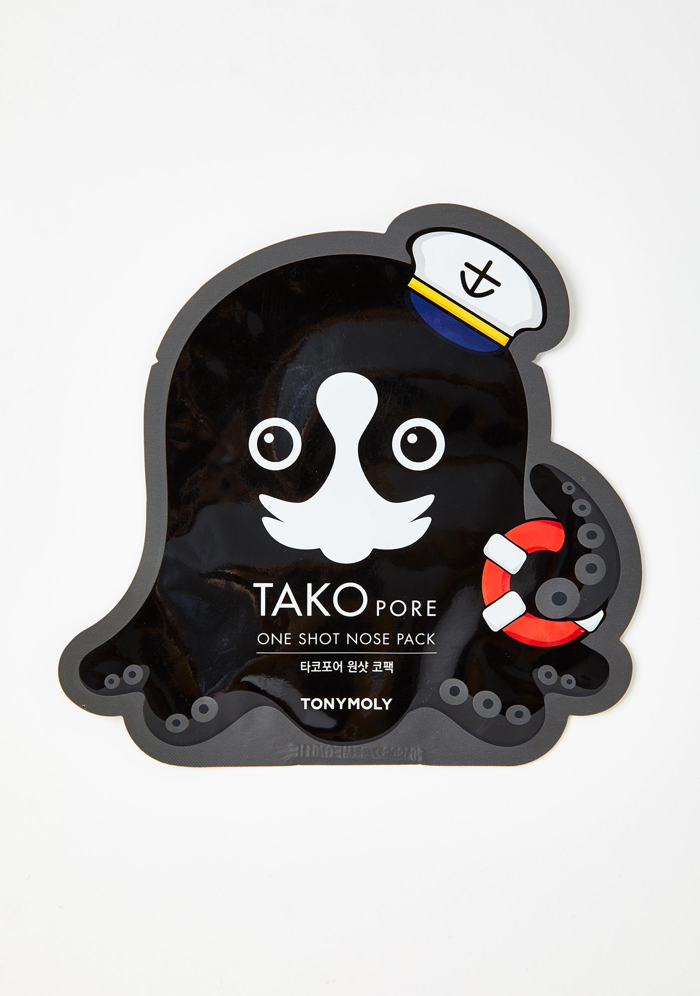 TONYMOLY Tako Pore One Shot Nose Mask
