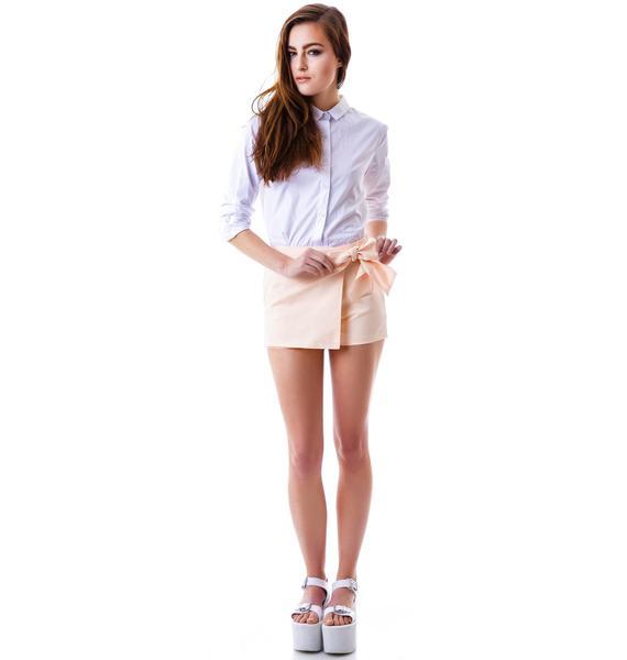 Frenchy Bow Shorts