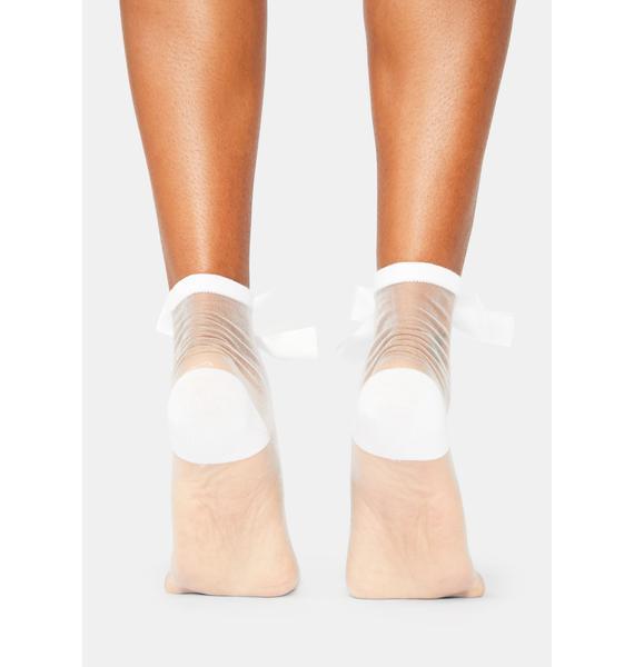 Soft Sonnet Sheer Ankle Socks