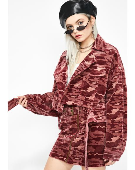 Commander Cutie Camo Jacket
