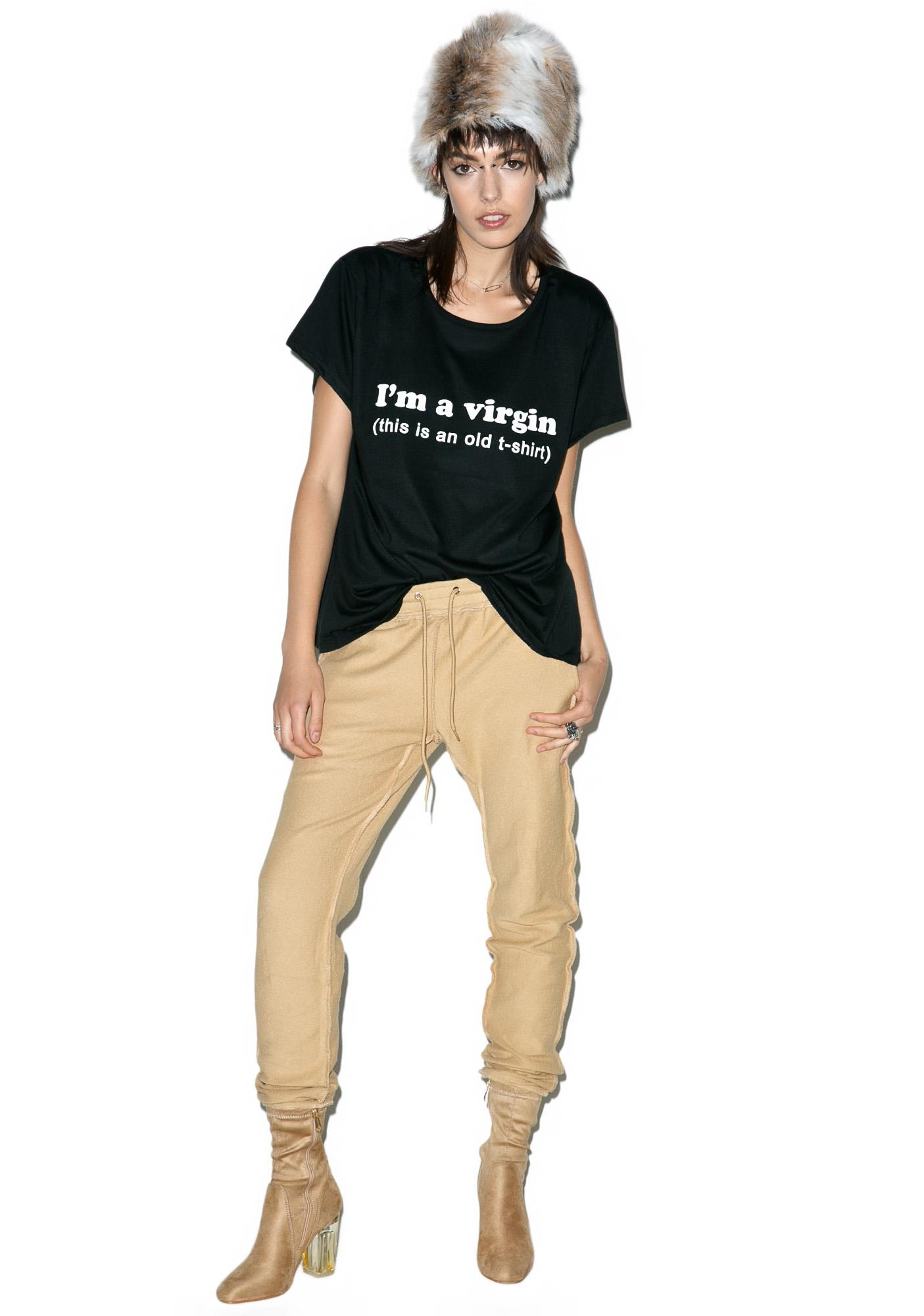Minga I'm A Virgin Boyfriend T-Shirt
