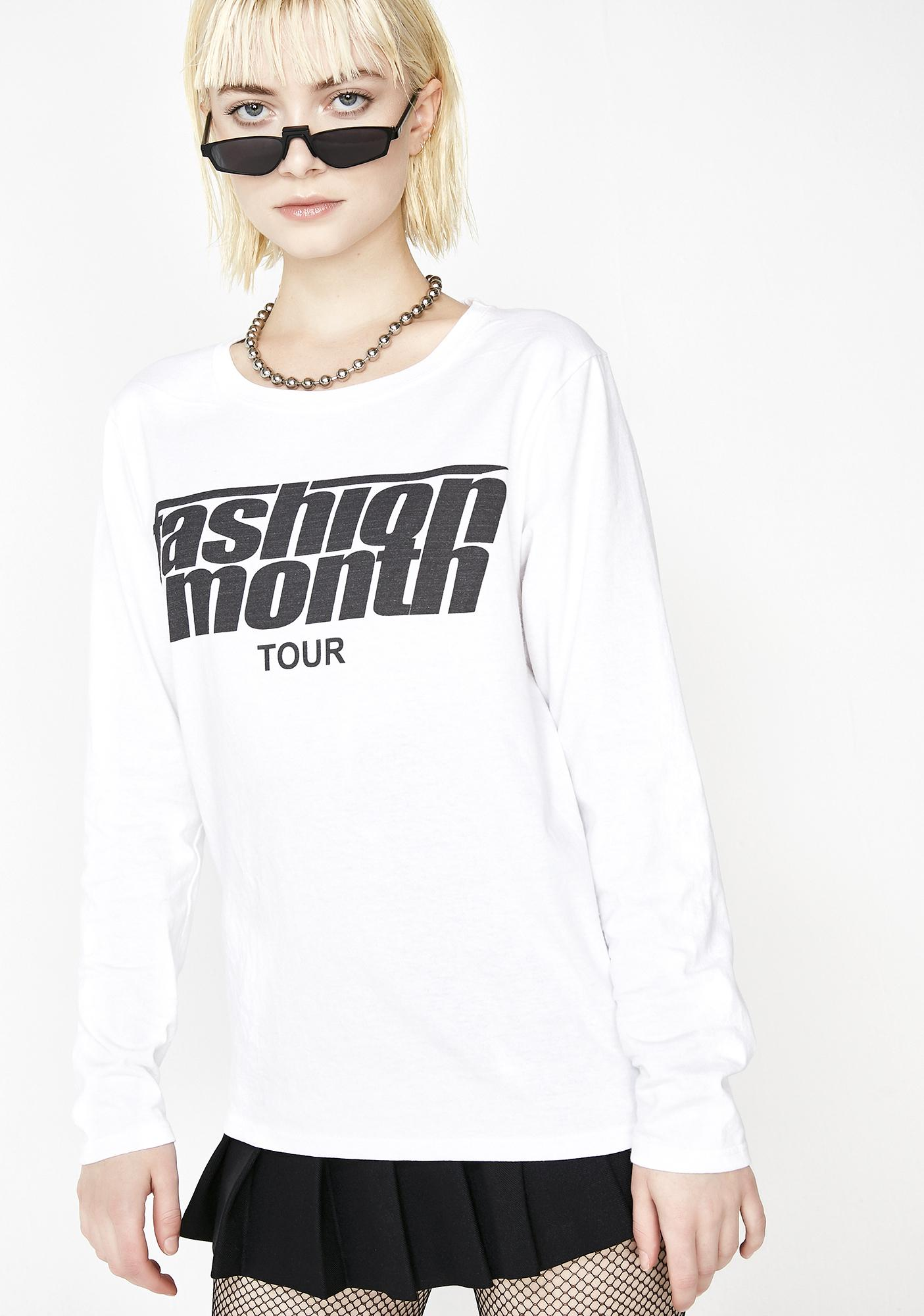 Urban Sophistication Fashion Month Tour Shirt
