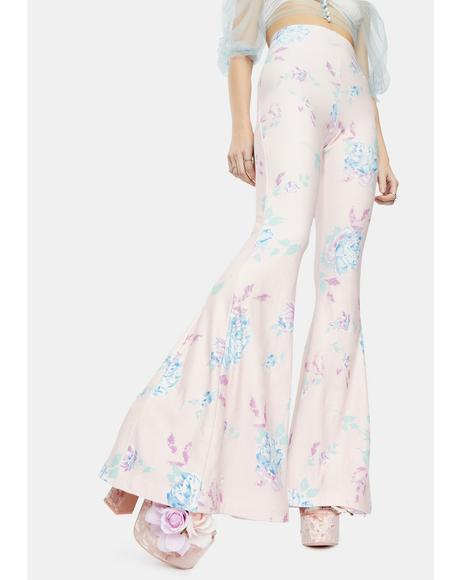 The Dreamhouse Floral Bell Bottoms