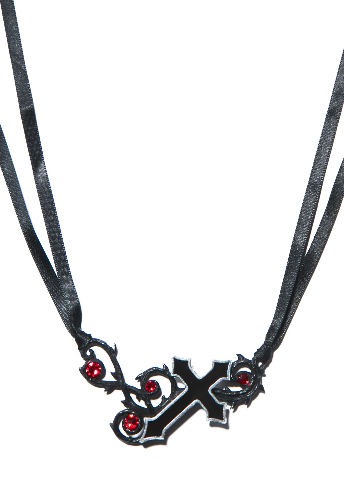 The Murnan Cross of Sorrow Necklace