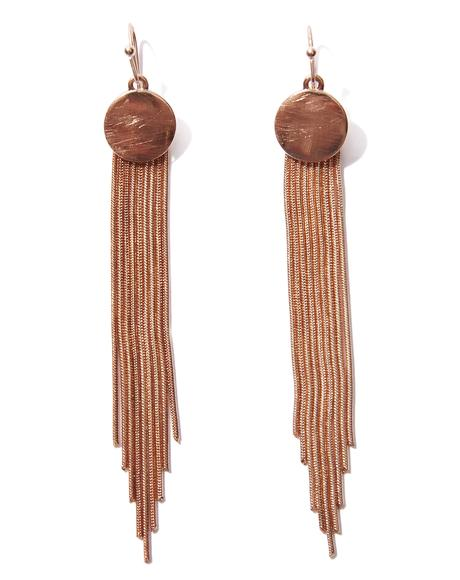 Top Notch Fringe Earrings
