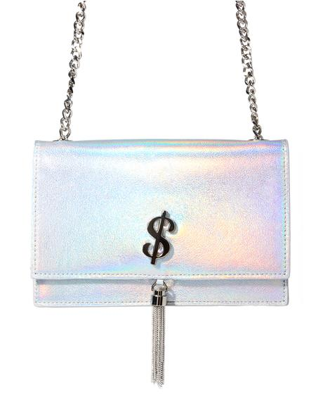 Rich Bitch Holographic Purse
