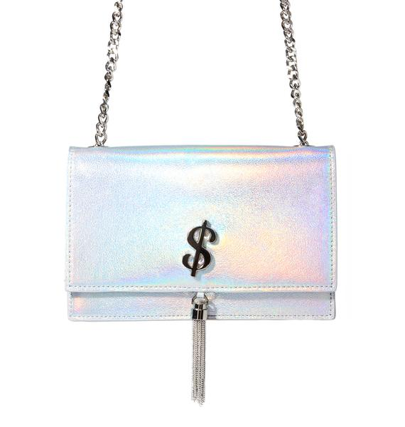 Sugar Thrillz Rich Bitch Holographic Purse