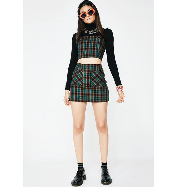 Forest Conflict Of Interest Plaid Top