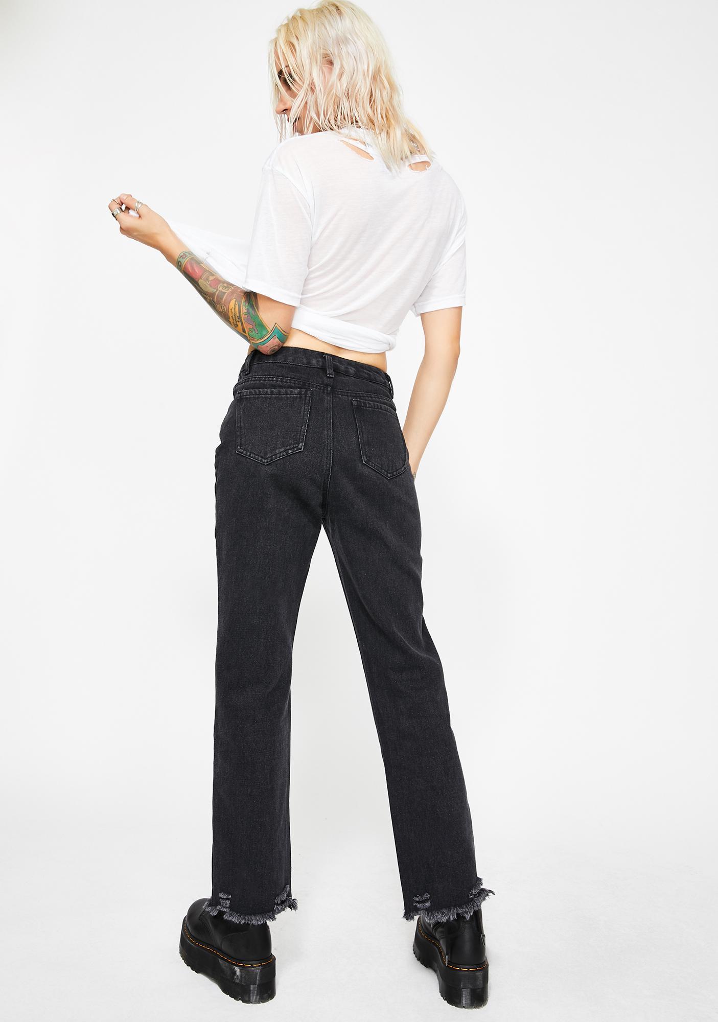 Current Mood Wild Rebel Distressed Jeans