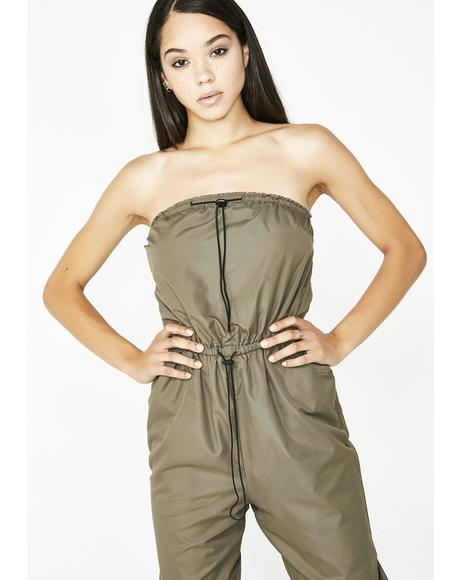 Ride With Me Strapless Jumpsuit