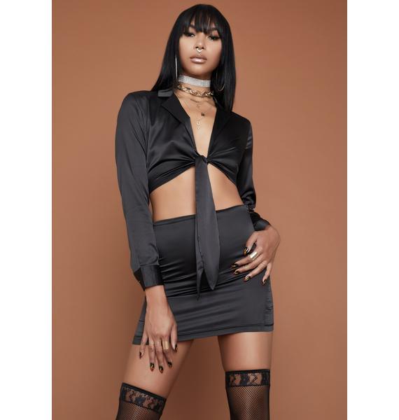 HOROSCOPEZ Can U Keep Up Skirt Set