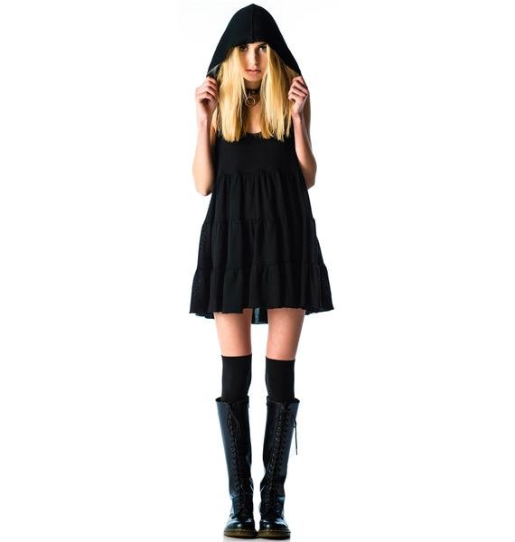 Lip Service Twilight Hooded Sweater Dress