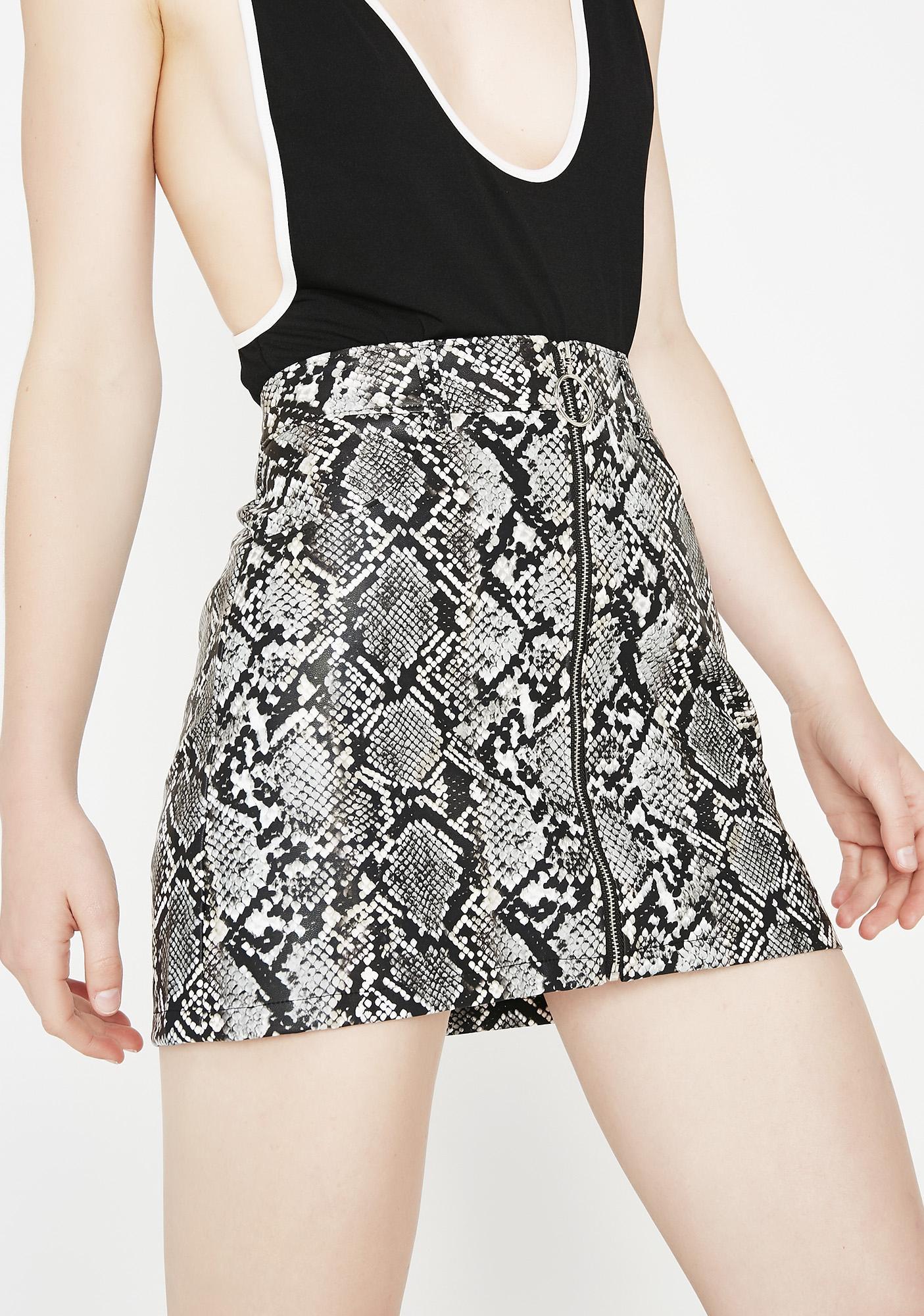 Feel My Venom Snake Skirt