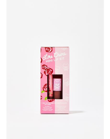 Hot Chocolate Mini Lip Kit