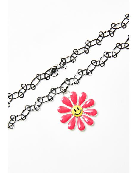 Bloomin' Obsession Tattoo Choker