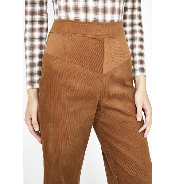 Sassy Scholar Cropped Pants