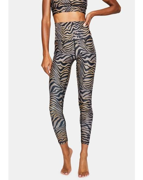 Tiger High Waisted Leggings