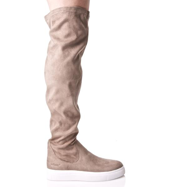 Fade Out Sneaker Boots