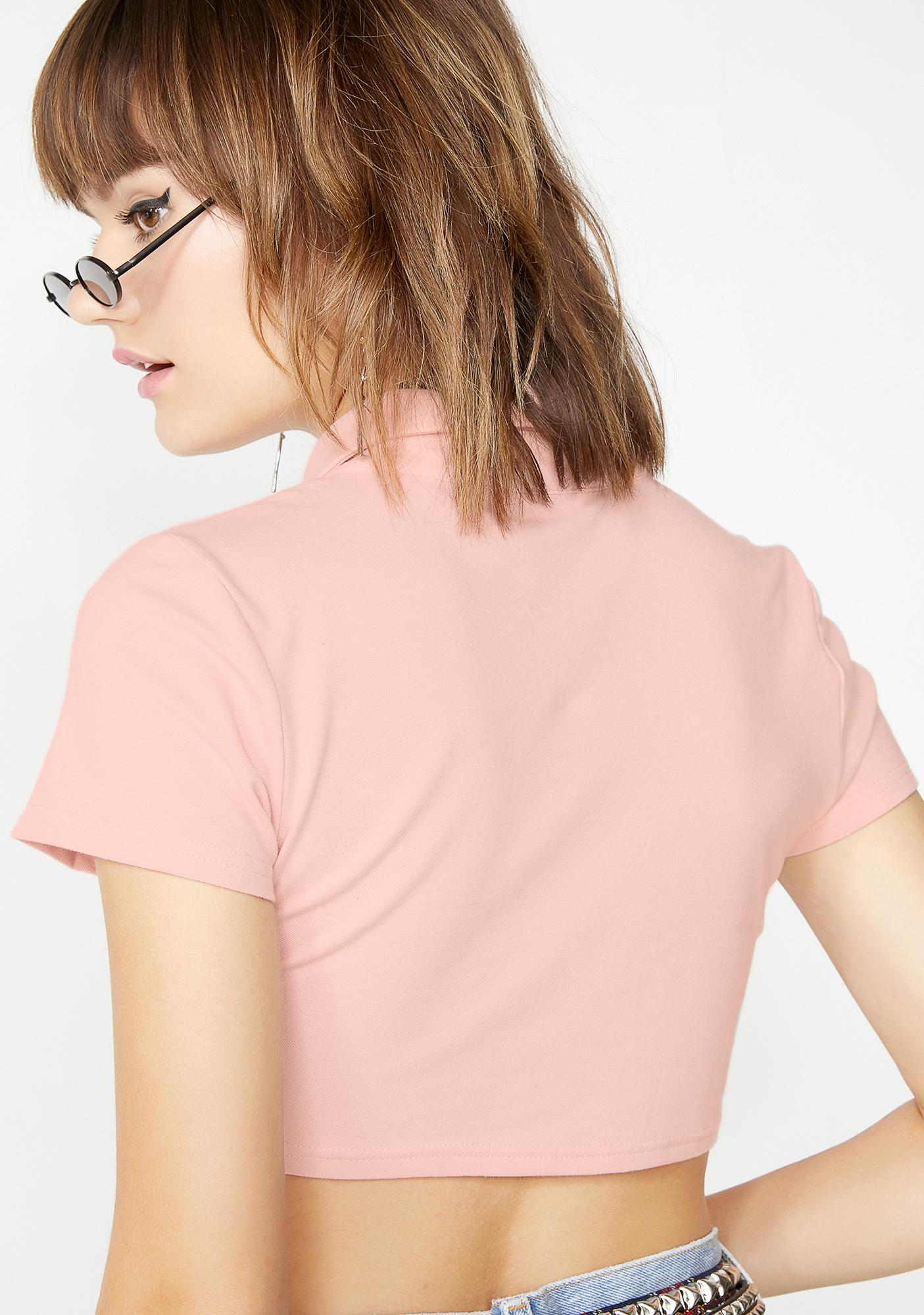 Clouded Thoughts Crop Top