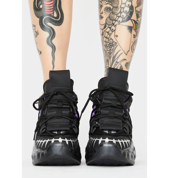 Anthony Wang Stellar Wave Platform Sneakers